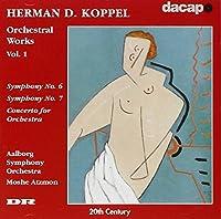 コッペル:交響曲第6番, 第7番/管弦楽のための協奏曲