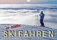 Skifahren - so schoen (Wandkalender 2021 DIN A4 quer): Skifahren - der schoenste Sport der Welt. (Monatskalender, 14 Seiten )