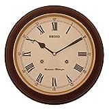 Seiko QXH202B - Reloj de pared (con melodía de la torre de Westminster e interruptor, 31,4 x 31,4 x 6,1cm)