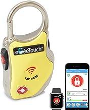eGeeTouchスマートトラベルロック(TSA認定南京錠 GT1000)Bluetooth+NFCで解錠 AndroidとiOSに対応 アクセス履歴機能で盗難や置忘れを防止