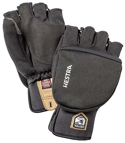 HESTRA Windstopper Pullover Fäustlinge Black Handschuhgröße 9 2020 Handschuhe