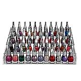 Organizzatore per smalto per unghie a 4 livelli con viti in plastica - Supporto acrilico (...