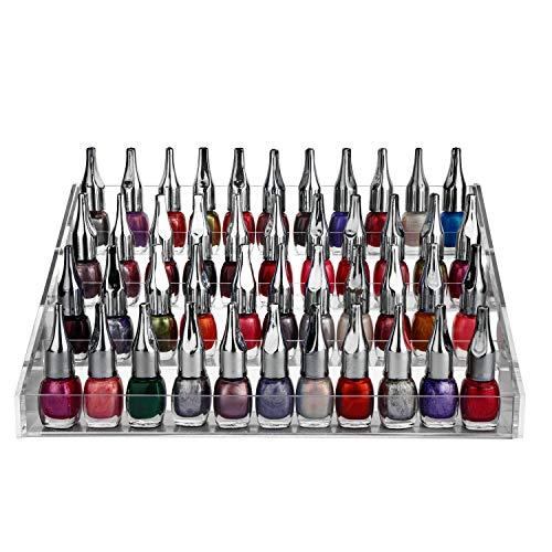 Organizador esmalte uñas 4 niveles tornillos plástico