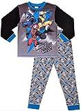 Boys Power Rangers Long Pyjamas w18 (6-7 Years) Grey