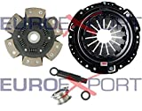 Competition Clutch Disc and Pressure Plate Kit for Honda H22 Prelude 2.0L 2.1L Ceramic 6 Puck Sprung Stage 4 8014-1620