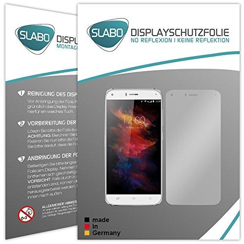 Slabo 2 x Bildschirmfolie für UMIDIGI Diamond Bildschirmschutzfolie Zubehör No Reflexion MATT