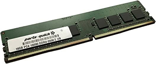 16GB Memory for QNAP TS-1673U-RP DDR4 UDIMM 2400 MHz 288-pin RAM (PARTS-QUICK BRAND)