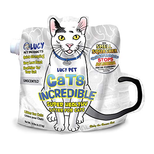 Lucy Pet Cats Incredible Clumping Cat Litter