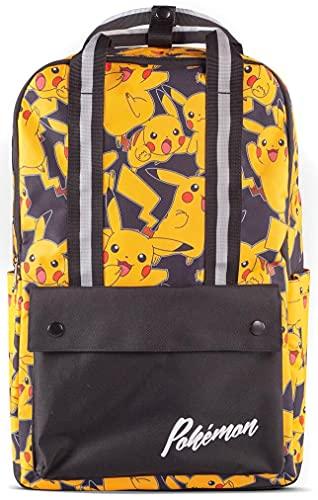 Difuzed Unisex Kinder Pikachu Rucksack, 31 x 41 x 16 cm