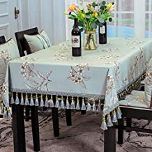 Royare Elegant Design Home Chinese Style Round Tablecloth Round Table Cover Cloth 1087 Cloth Coffee Table Cloth Home Livin...