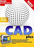 FreeCAD plus Die professionelle 2D + 3D Software auf CD DVD Konstruktion Architektur, Maschinenbau,...