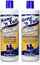 Mane 'n Tail Deep Moisturizing Shampoo + Conditioner 27.05 Ounce to Repair Distressed Hair