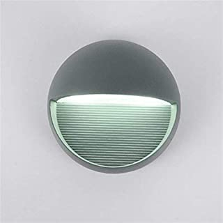 ZKS-KS Wall Bedside Lamp Bedroom Modern Creative Living Room Wall Lights, Hyun Off The Road Corridor Led Waterproof Outdoo...