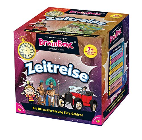Brain Box 2094936 Zeitreise, Lernspiel, Quizspiel für Kinder ab 7 Jahren