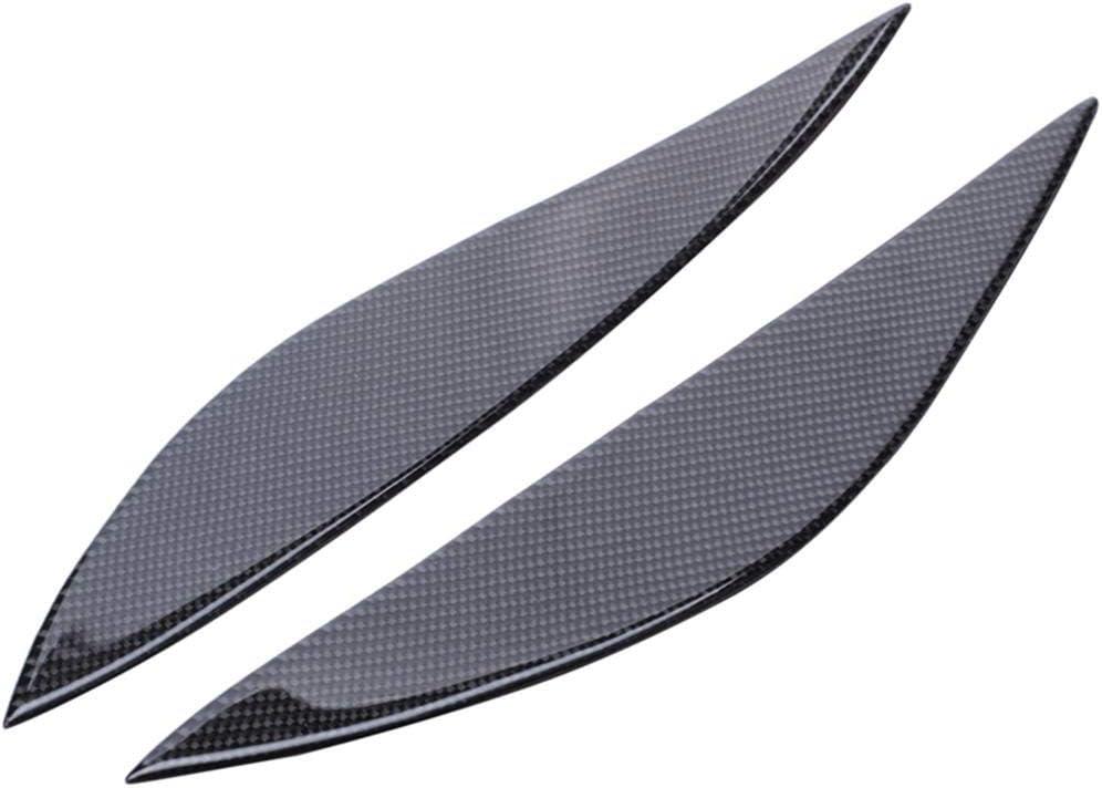 ASHDelk Car Carbon Fiber Headlight Merc Eyebrow for low-pricing safety Trim Eyelid