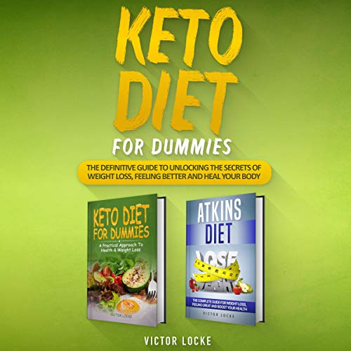 Couverture de Keto Diet for Dummies