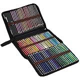 GGOOD 72 lápices lápices de la Acuarela de Colores Conjunto de Libros para Colorear Capas de Mezcla Dibujo para Adultos Niños Profesionales, lápices de la Acuarela
