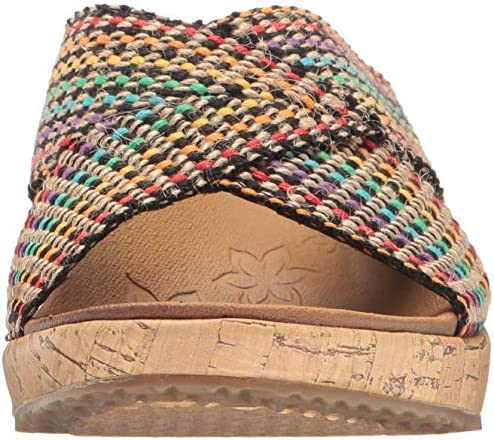 Colorful wedges shoes _image4