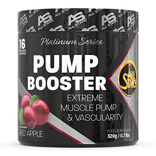 All Stars Pump Booster Extreme Muscle Pump & Vascularity, Red Apple, 320 g