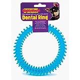 Pennine Dog Toy Dental Ring 15cm, clear