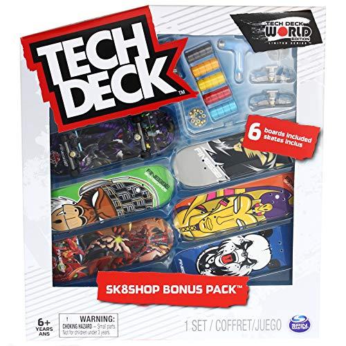 Tech-Deck Sk8shop Bonus Pack World Edition Limited Series 2020 (Finesse)