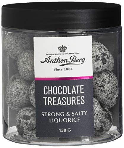 Anthon Berg Chocolate Liquorice Strong & Salty, 150 g