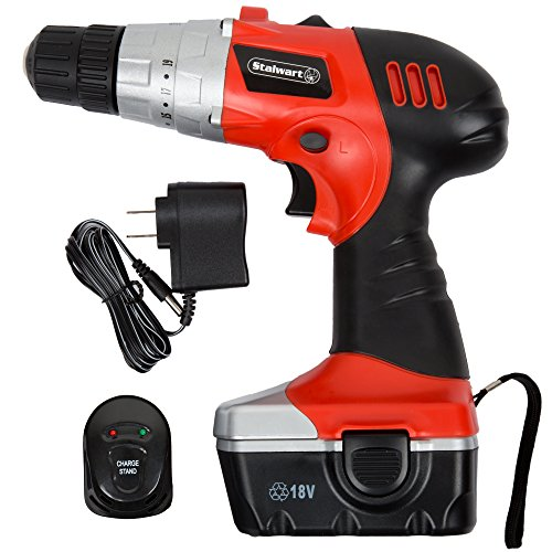 ouying1418 Rechargeable 4.8V Cordless Electric Drill Pistol Drill Electric Screwdriver