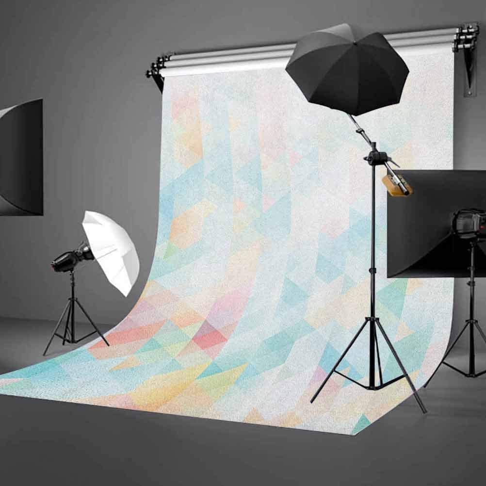 8x12 FT Spring Vinyl Photography Background Backdrops,Flourishing Roses with Leaves on Striped Pastel Green Background Background for Photo Backdrop Studio Props Photo Backdrop Wall