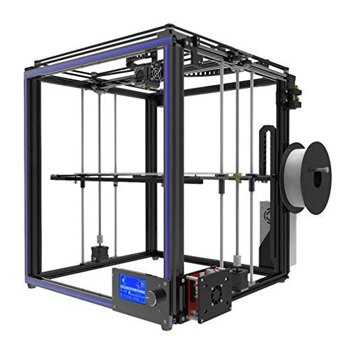 Poncherish Macchina da stampa a profilo in alluminio per stampante 3D di alta precisione 300x300x400mm