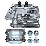 AUMEL Kit de Tornillos de Junta de Culata de válvula de Cilindro para Honda GX160 GX200 5.5HP 6.5HP Motor Reemplazar 12210-ZL0-405