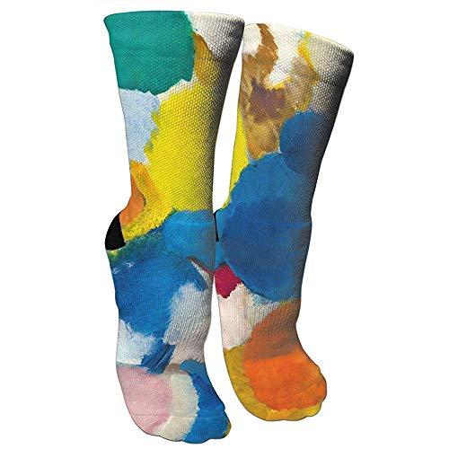 Jesse Tobias Ernst Wilhelm Nay Irisches Gedicht Verrückte Socken 3D Crew Socken