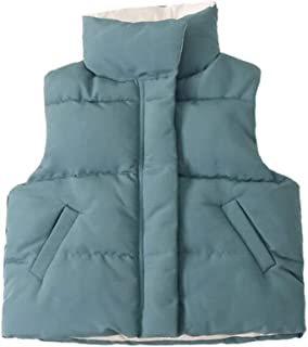 Elishow Little Boys Girls Puffer Vest Warm Fleece Outerwear Jacket Zipper Up