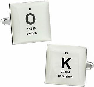 元素記号 メッセージ オッケー カフス カフスボタン カフリンクス n01424