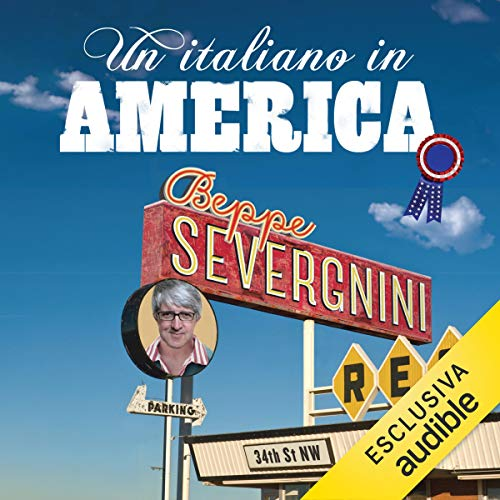 Un italiano in America audiobook cover art