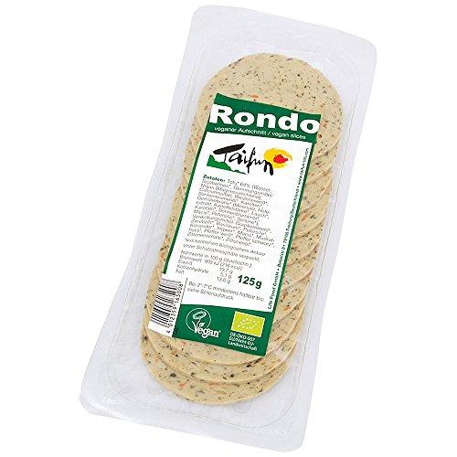Taifun Rondo Aufschnitt mit frischen Kräutern, vegan, 125g