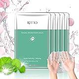 RITIO Hydrating Facial Mask Tencel Sheet Masks for SPA Treatment &...