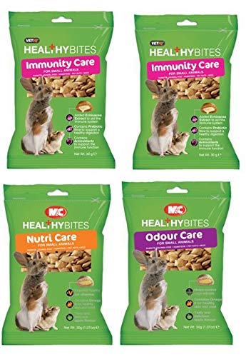 VetIQ Small Animal Treats Variety Pack, 4 x 30 g