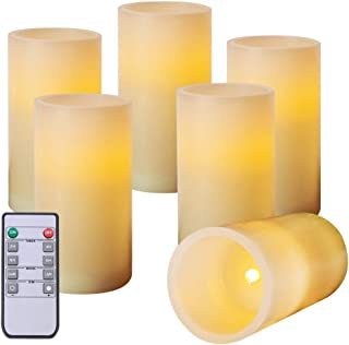 Best 6 inch flameless candles Reviews