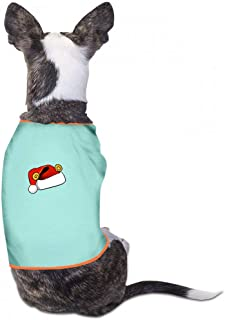 Summer Pet Apparel Christmas Pet Clothes Dog T-Shirts Clothes Merry Christmas Dogs Summer Vest Costumes Fashion T-Shirt Breathable Sleeveless Summer - (Sky Blue, Gray, Yellow, Black)