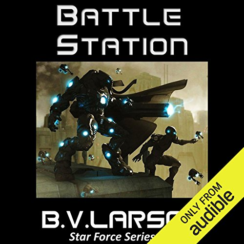 Battle Station audiobook cover art