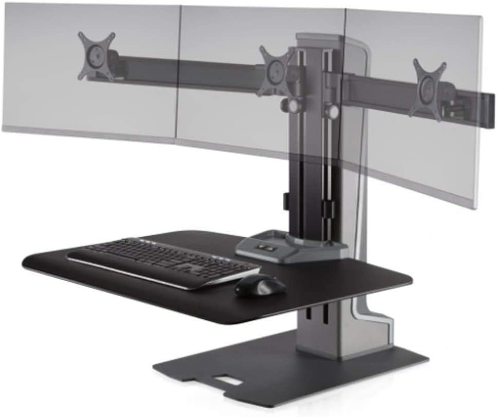 Stand Steady Winston-E Electric Finally resale start Triple Mount D Sit-Stand Monitor free shipping