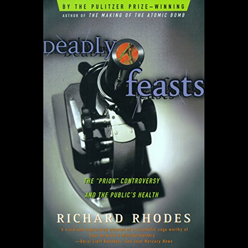 Deadly Feasts audiobook cover art
