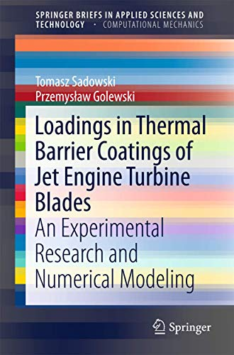 Loadings in Thermal Barrier Coatings of Jet Engine Turbine Blades: An Experimental Research and Numerical Modeling (Spri
