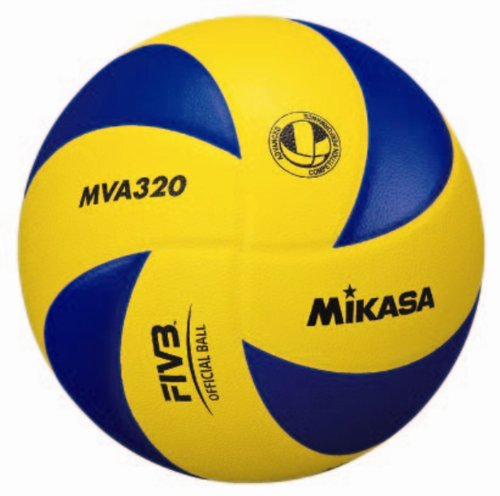 MIKASA Hallenvolleyball MVA 320, mehrfarbig, 5
