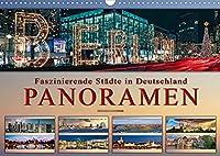 Faszinierende Staedte in Deutschland - Panoramen (Wandkalender 2022 DIN A3 quer): Eindrucksvolle Staedte Deutschlands in aussergewoehnlichen Panoramen. (Monatskalender, 14 Seiten )