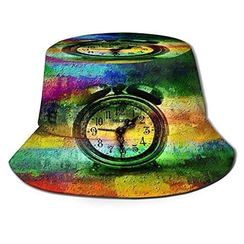Lawenp Reloj Sombrero de Pescador SunPackable para Viajes de Verano al Aire Libre