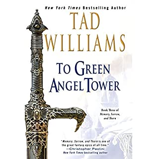 To Green Angel Tower audiobook cover art