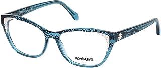 Roberto Cavalli RC5033-092 Eyeglass Frame blue w/Clear Demo Lens 54mm