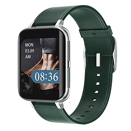 ZGLXZ Smartwatch DT93 Función MP3 Bluetooth Call CG Smart Watch Fashion para Android iOS,F