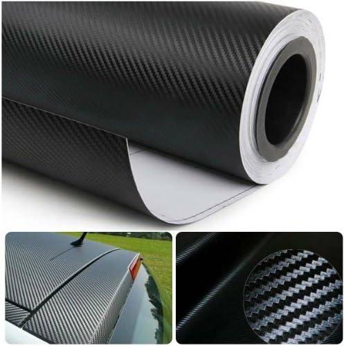 DIYAH Manufacturer direct delivery 3D Black Carbon Fiber Film Twill Roll Vinyl Sheet Wr Weave List price